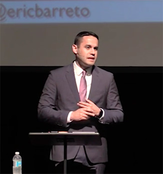 Dr. Eric Barreto spoke this week at Emmanuel Christian Seminary at Milligan College.