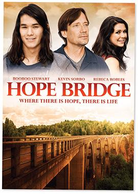 "This poster is for Joe Boyd's film ""Hope Bridge."""