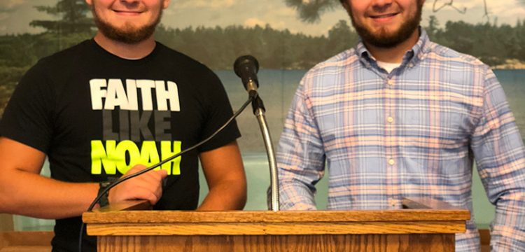 6 Students Answer Call, Share Preaching Duties at Church