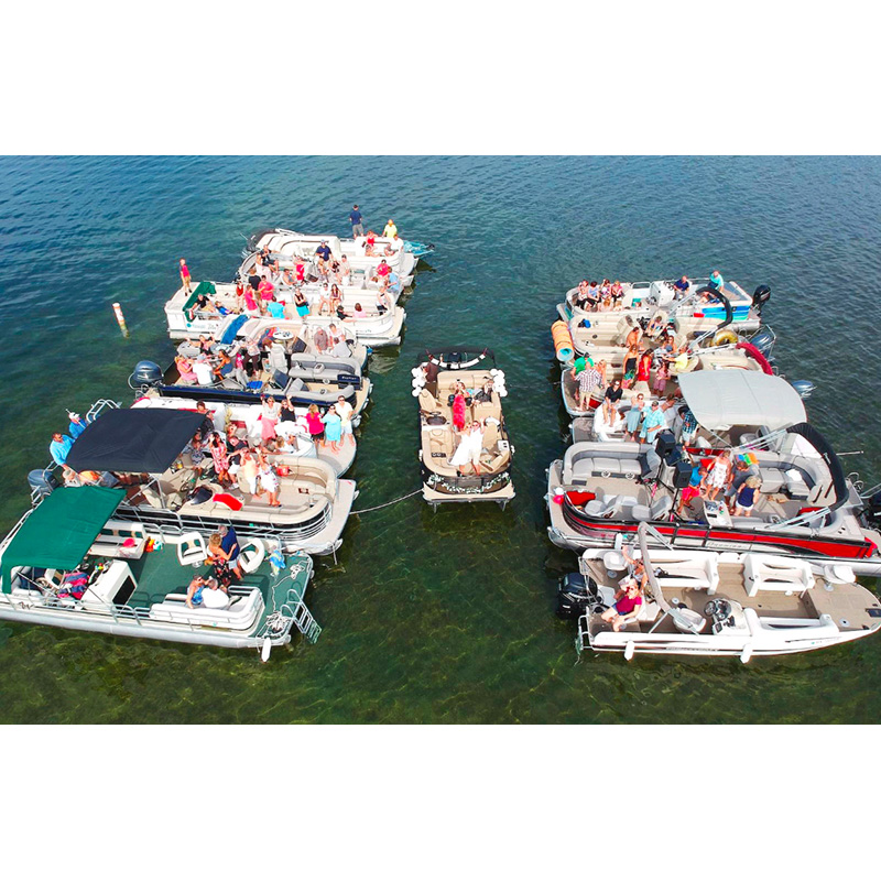 Pontoon Boat Wedding a First for Minnesota Minister