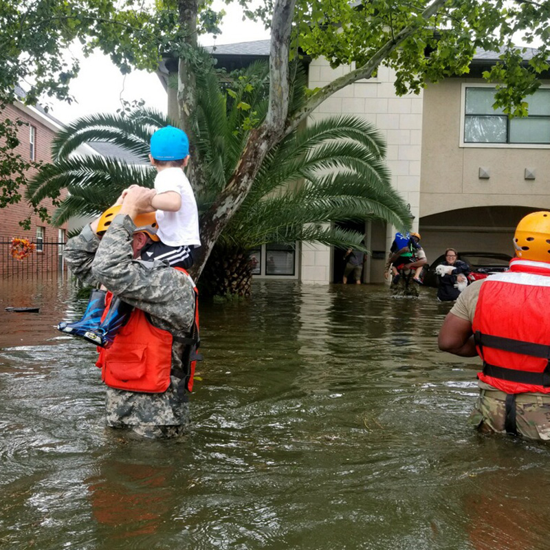 Houston-area Churches Coping with Harvey Flooding