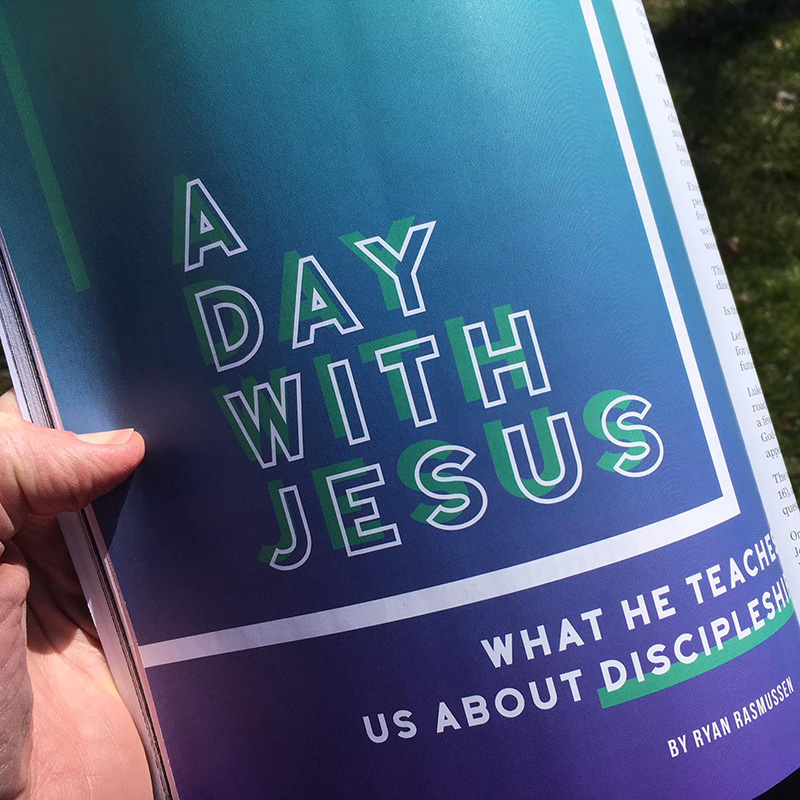 A Day with Jesus: What He Teaches Us About Discipleship