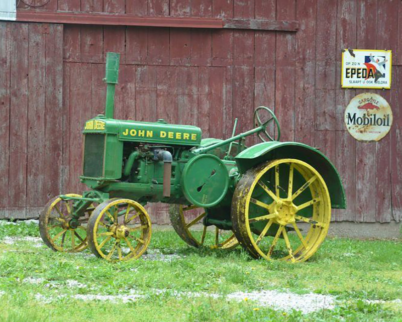 Auction of First John Deere GP Tractor (Circa 1928) to Benefit Church