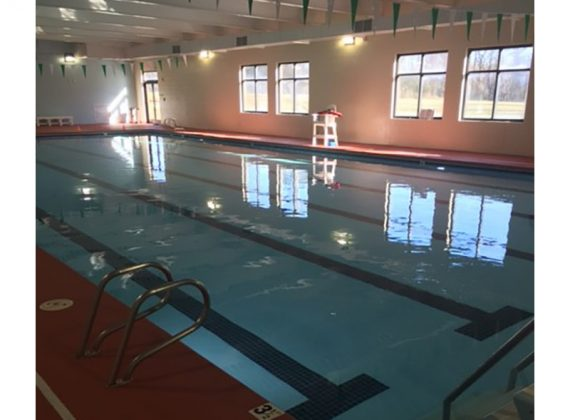 Swimming Pool Integral Part of Church's Fitness Center