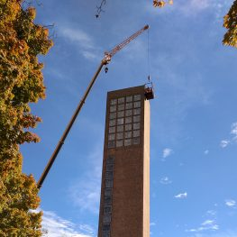 Acclaimed Church Building Copes with Aging
