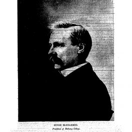 Remembering Hugh McDiarmid, Standard's Second Editor