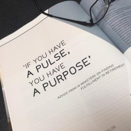 """""""If You Have a Pulse, You Have a Purpose"""""""