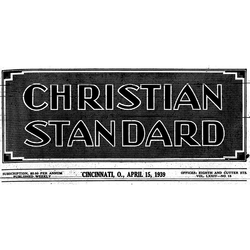 A Sampling of Editorials from April 1939