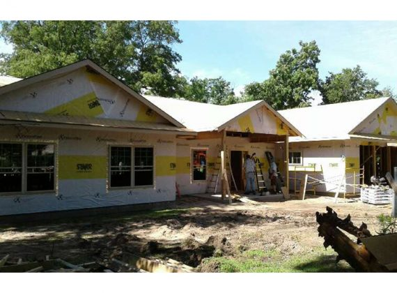 Two Oklahoma Churches, Mission Group Building Home for Retiring Missionary Couple