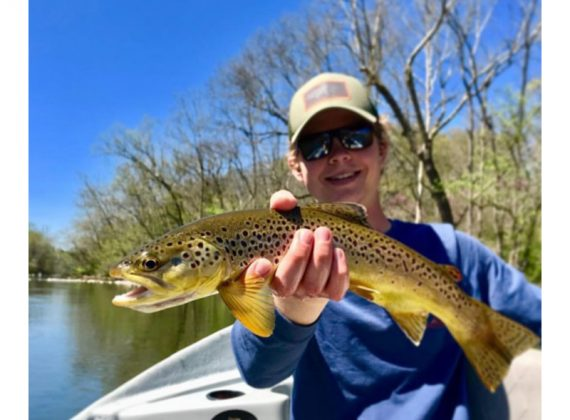 Milligan Starting Fly-Fishing Team (Plus News Briefs)