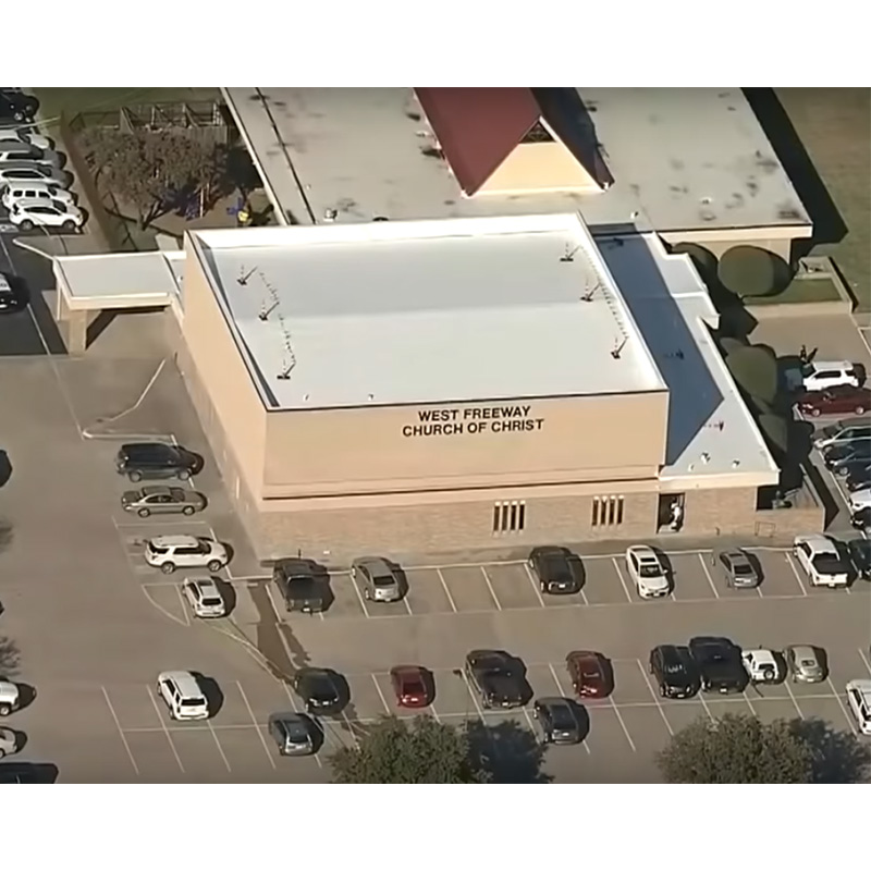 Security Team Takes Down Gunman after He Kills Two in Texas Church (Plus News Briefs)
