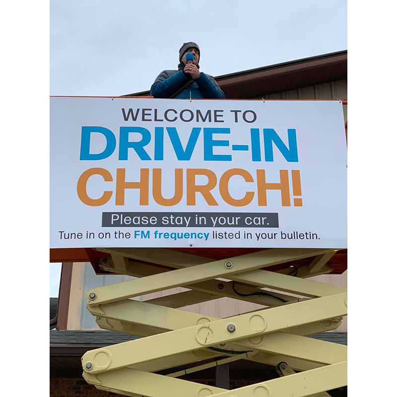 Churches Gain Attention for Adapting to COVID-19 Challenges