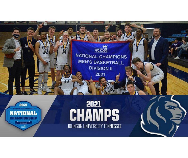 Johnson U. Royals Win Men's Basketball National Title