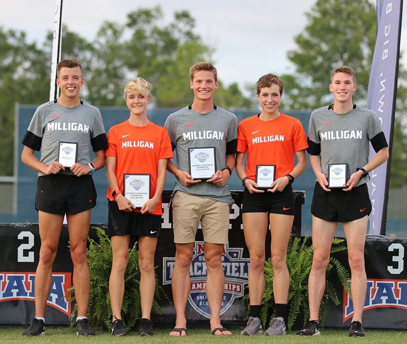 Milligan Athletes Finish Strong