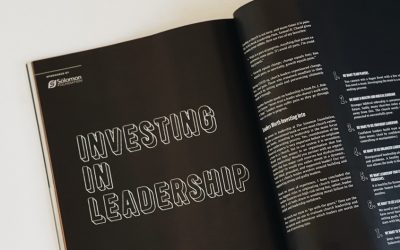 Investing in Leadership